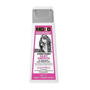 MD10 Conditioner Silky Smooth 300ml (Approx 10 Litre Diluted) Chin Papillon Shih Tzu Yorkshire Terrier Cavalier English Cocker Spaniel Red Setter (1)